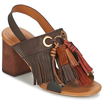 kengät Naiset Sandaalit ja avokkaat See by Chloé SB30102 Brown