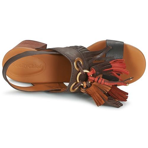 See By Chloé Sb30102 Brown - Ilmainen Toimitus- Kengät Sandaalit Naiset 226