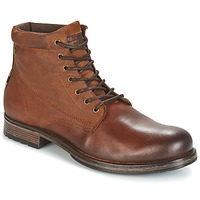 kengät Miehet Bootsit Jack & Jones JUSTIN Brown
