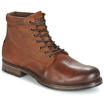 kengät Miehet Bootsit Jack & Jones JUSTIN Brown
