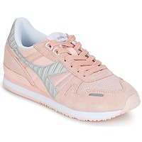 kengät Naiset Matalavartiset tennarit Diadora TITAN II W Pink