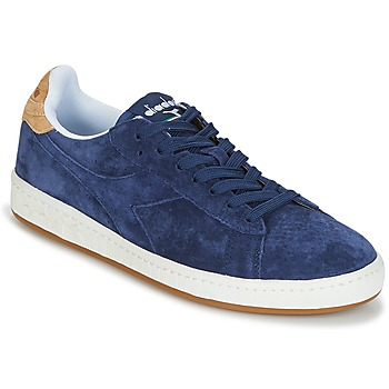 kengät Miehet Matalavartiset tennarit Diadora GAME LOW SUEDE Blue