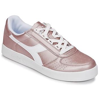 kengät Naiset Matalavartiset tennarit Diadora B ELITE I METALLIC WN Bronze
