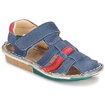 kengät Pojat Sandaalit ja avokkaat El Naturalista KIRI Blue / Red