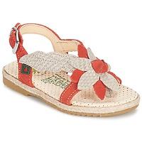kengät Tytöt Sandaalit ja avokkaat El Naturalista SAMOA Orange / ECRU
