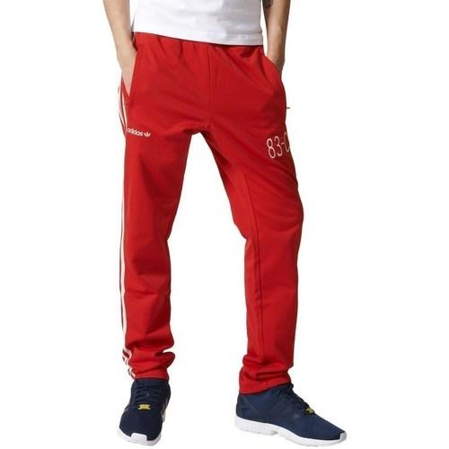 vaatteet Miehet Verryttelyhousut adidas Originals 83C Trackpant Punainen