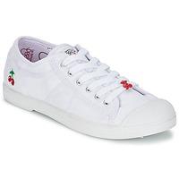 kengät Naiset Matalavartiset tennarit Le Temps des Cerises BASIC 02 Valkoinen