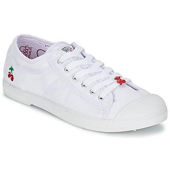 kengät Naiset Matalavartiset tennarit Le Temps des Cerises BASIC 02 White