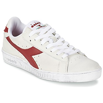 kengät Matalavartiset tennarit Diadora GAME L LOW WAXED White / Red