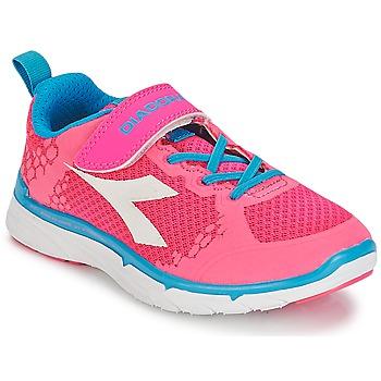 kengät Tytöt Matalavartiset tennarit Diadora NJ-303-1 JR Pink