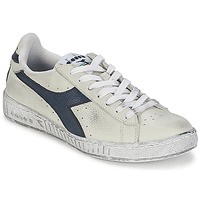 kengät Matalavartiset tennarit Diadora GAME L LOW WAXED White / Blue