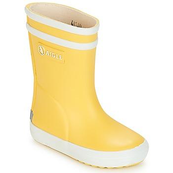 kengät Lapset Kumisaappaat Aigle BABY FLAC Yellow