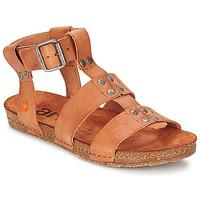 kengät Naiset Sandaalit ja avokkaat Art CRETA SPARA CAMEL