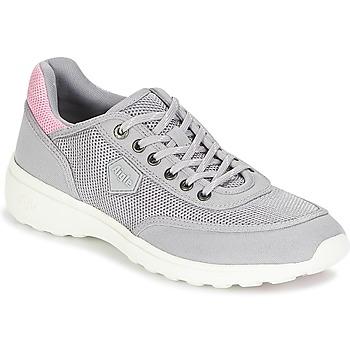 kengät Naiset Matalavartiset tennarit Aigle LUPSEE W MESH Harmaa / Vaaleanpunainen