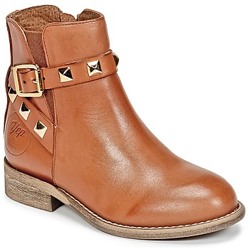 kengät Tytöt Bootsit Young Elegant People CELIAL Cognac