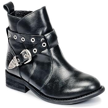 kengät Tytöt Bootsit Young Elegant People CALYPSOM Black