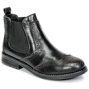 kengät Tytöt Bootsit Young Elegant People JOSEPHI Musta