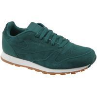 kengät Lapset Matalavartiset tennarit Reebok Sport CL Leather SG CM9079 green