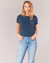 vaatteet Naiset Lyhythihainen t-paita Yurban HOULOU Laivastonsininen