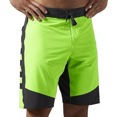 vaatteet Miehet Shortsit / Bermuda-shortsit Reebok Sport OS Cordura 1SH Mustat, Vaaleanvihreä