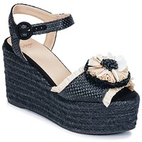 kengät Naiset Sandaalit ja avokkaat Castaner EFEDRA Black