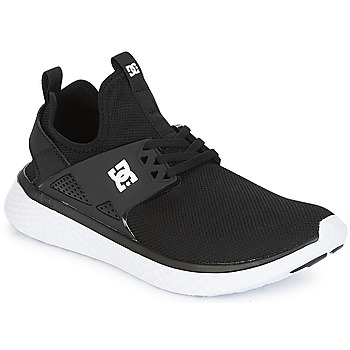 kengät Miehet Matalavartiset tennarit DC Shoes Meridian M SHOE BKW Musta