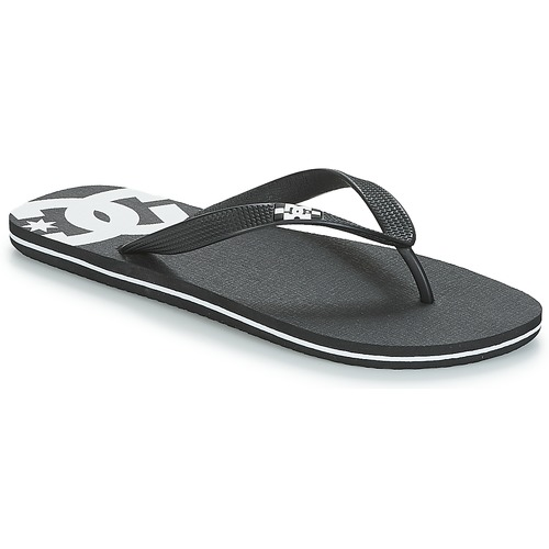 kengät Miehet Varvassandaalit DC Shoes SPRAY M SNDL BLW Black / White