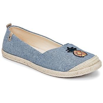 kengät Naiset Espadrillot Roxy FLORA II J SHOE CHY Blue