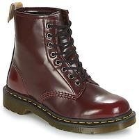 kengät Bootsit Dr Martens VEGAN 1460 Red