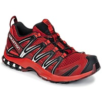 kengät Miehet Juoksukengät / Trail-kengät Salomon XA PRO 3D Red / Black