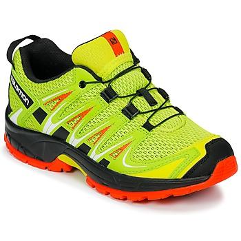 kengät Lapset Urheilukengät Salomon XA PRO 3D J Yellow / Black
