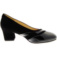 kengät Naiset Korkokengät Calzaturificio Loren LO60759ne nero