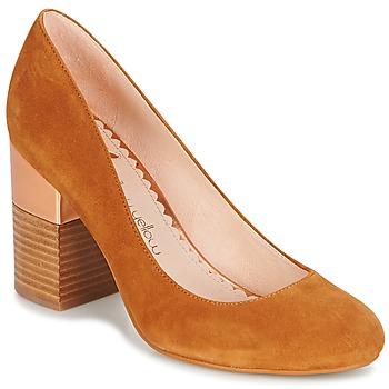 kengät Naiset Korkokengät Mellow Yellow DABOL Camel