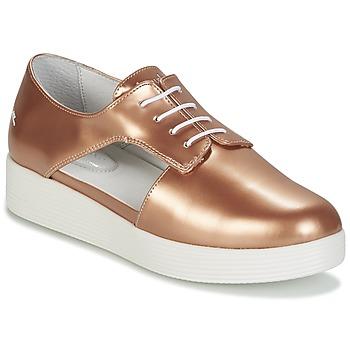 kengät Naiset Derby-kengät Mellow Yellow DAFUNK Orange / Metallinen