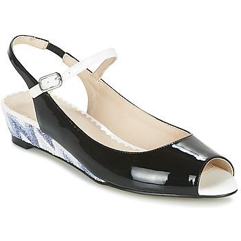 kengät Naiset Sandaalit ja avokkaat Mellow Yellow DALY Black
