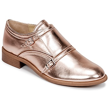 kengät Naiset Derby-kengät Mellow Yellow DOS Pink / Kulta