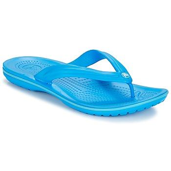 kengät Varvassandaalit Crocs CROCBAND FLIP Sininen