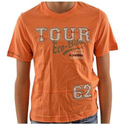 vaatteet Lapset Lyhythihainen t-paita Diadora  Oranssi