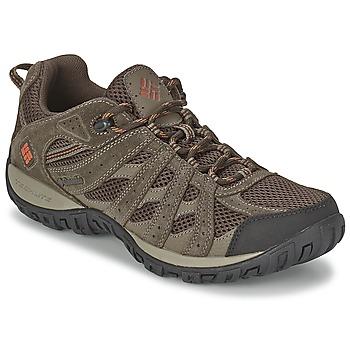 kengät Miehet Vaelluskengät Columbia REDMOND Brown