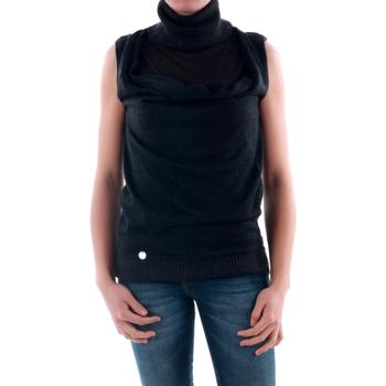 vaatteet Naiset Neulepusero Amy Gee AMY04201 Gris oscuro