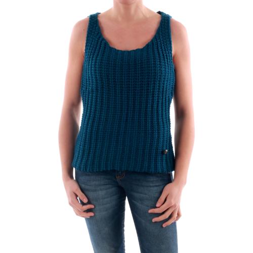 vaatteet Naiset Neulepusero Amy Gee AMY04202 Azul