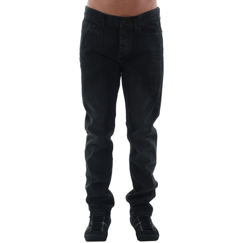 vaatteet Miehet Suorat farkut Calvin Klein Jeans J3DJ30I072 Negro