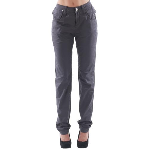 vaatteet Naiset 5-taskuiset housut Fornarina FOR08001 Morado