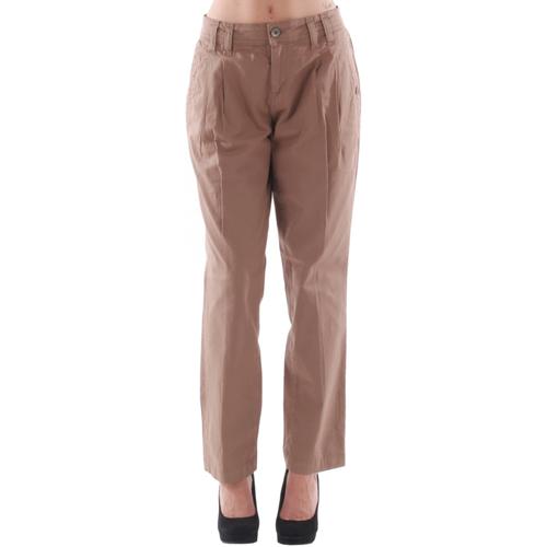vaatteet Naiset Chino-housut / Porkkanahousut Fornarina FOR08024 Marrón