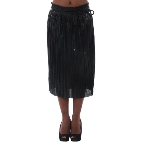 vaatteet Naiset Hame Fornarina MARINE_ANTHRACITE Negro