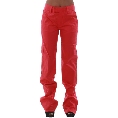 vaatteet Naiset Chino-housut / Porkkanahousut Fornarina KIM_CORAL Coral