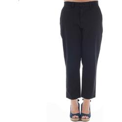 vaatteet Naiset Chino-housut / Porkkanahousut Gas GAS01164 Negro