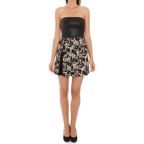 vaatteet Naiset Lyhyt mekko Liu Jo C65191T1539_Z9528 Negro