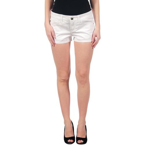 vaatteet Naiset Shortsit / Bermuda-shortsit Miss Sixty MIS01087 Blanco