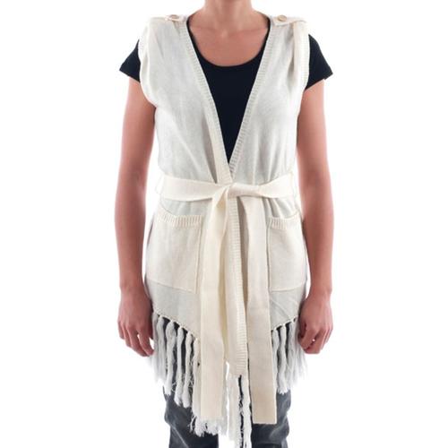 vaatteet Naiset Neuleet / Villatakit Nolita NOL03183 Blanco roto